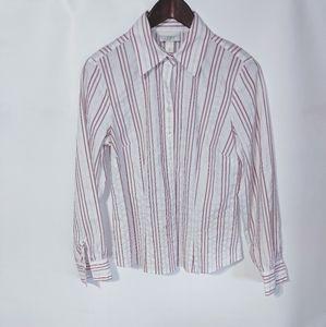 Ann Taylor Loft  Button Shirt Size 10